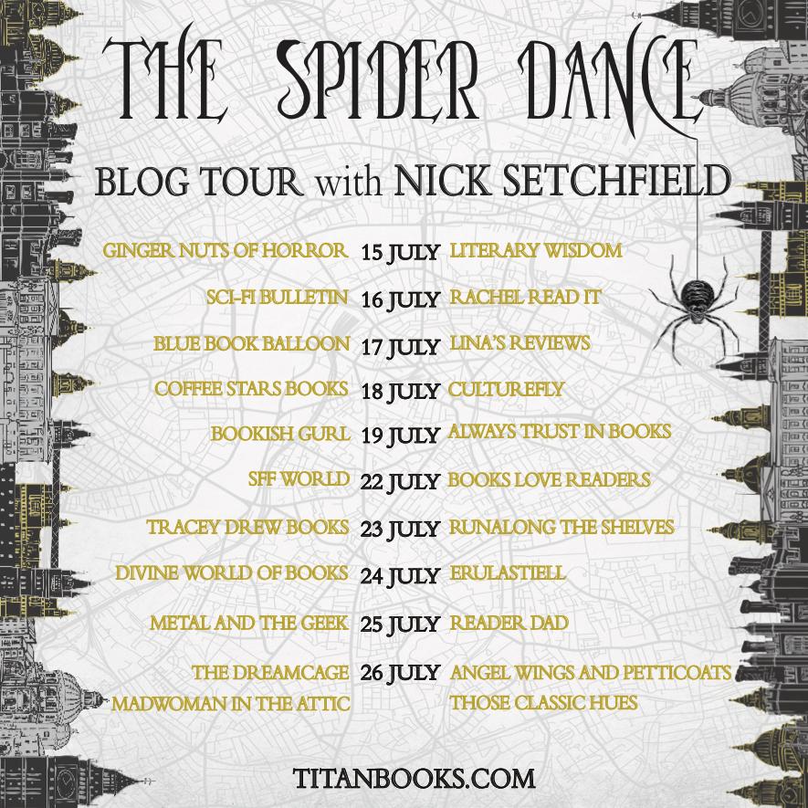 SpiderDance Blog Tour Banner